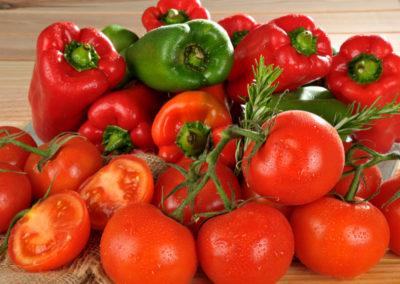 Au rayon primeur, les produits locaux - tomates