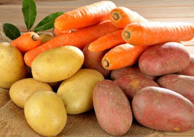 Au rayon primeur, les produits locaux - carottes