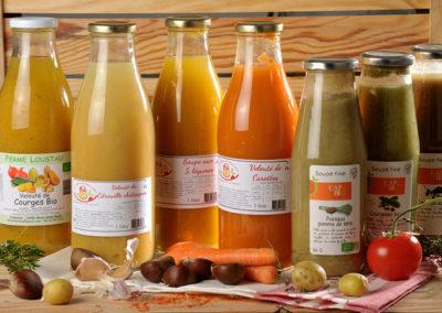 Epicerie La table des producteurs Soupes